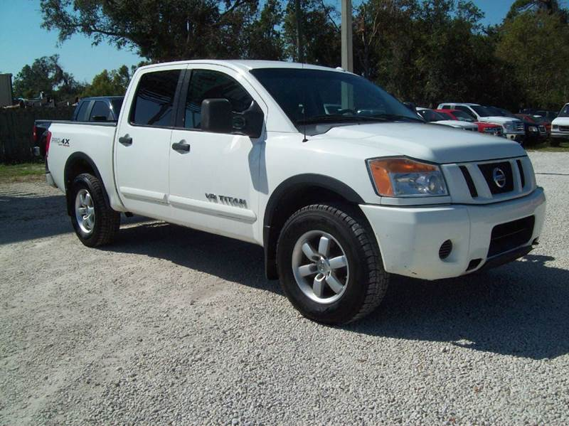 2011 nissan titan 4x4 pro 4x 4dr crew cab swb pickup in st augustine fl longstreet auto. Black Bedroom Furniture Sets. Home Design Ideas
