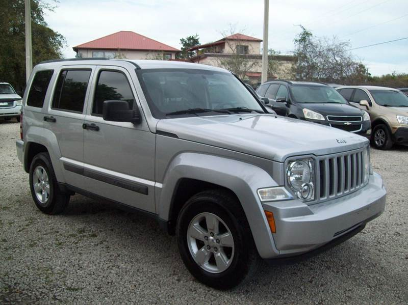 2011 jeep liberty 4x4 sport 4dr suv in st augustine fl. Black Bedroom Furniture Sets. Home Design Ideas