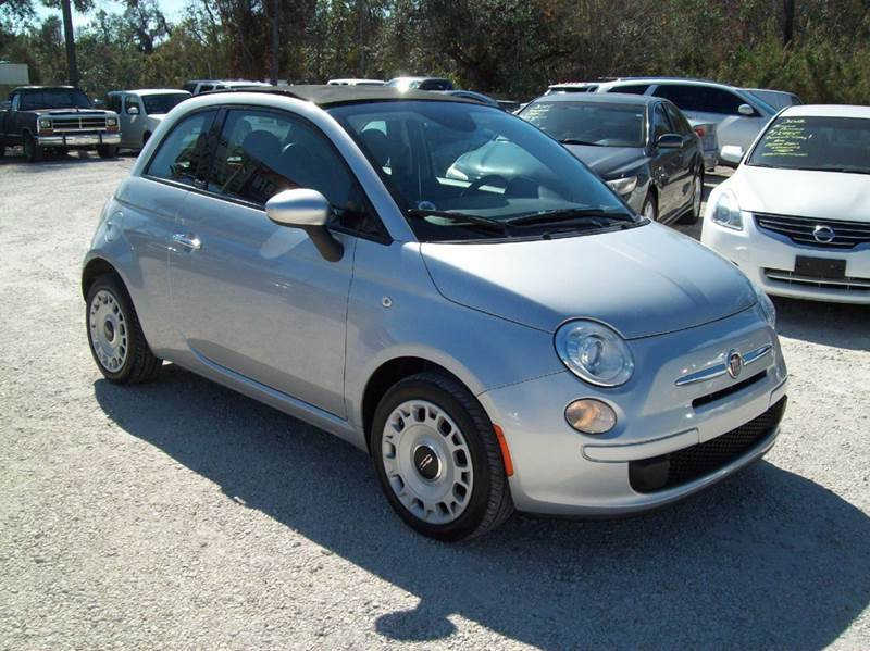 2014 fiat 500c pop 2dr convertible in st augustine fl longstreet auto. Black Bedroom Furniture Sets. Home Design Ideas