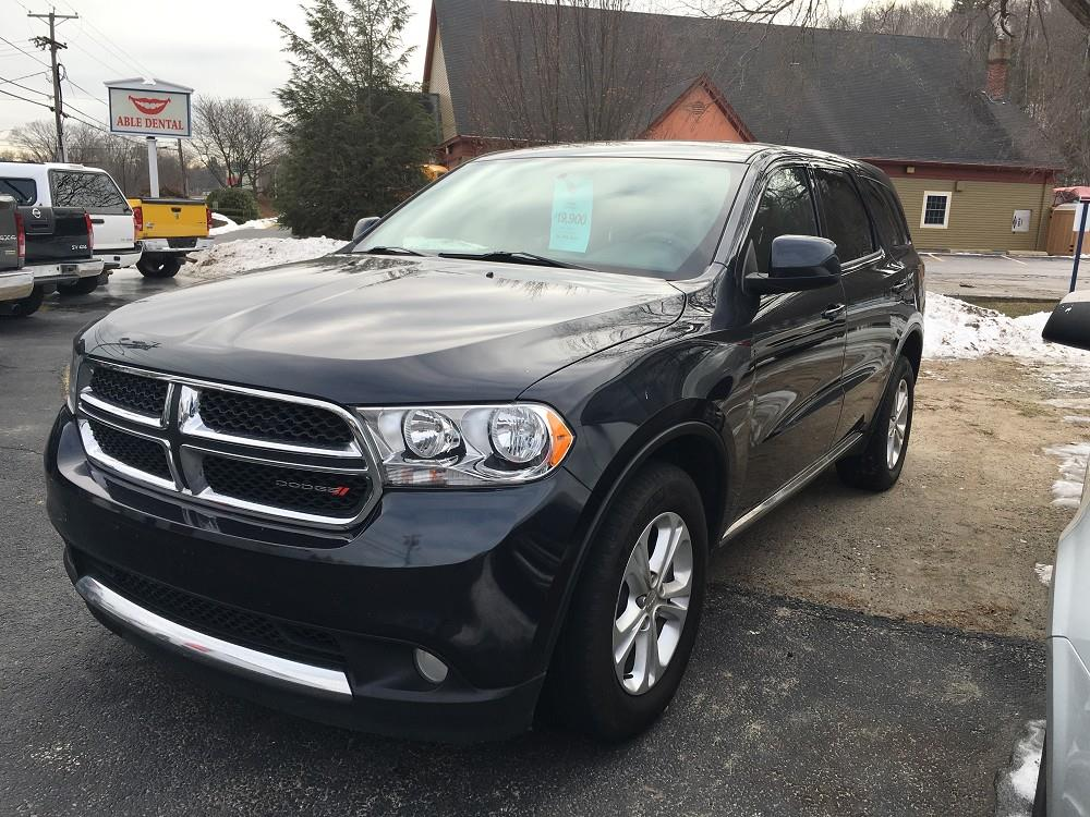 2013 dodge durango awd sxt 4dr suv in worcester ma mill street motors. Black Bedroom Furniture Sets. Home Design Ideas