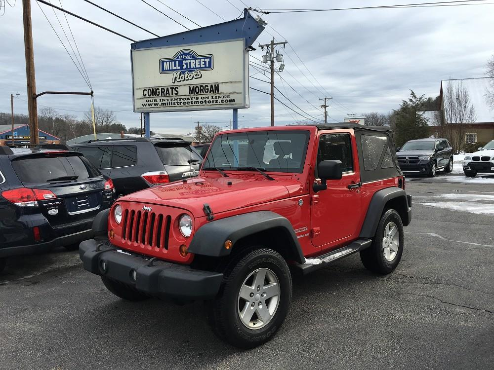 2010 jeep wrangler 4x4 sport 2dr suv in worcester ma. Black Bedroom Furniture Sets. Home Design Ideas