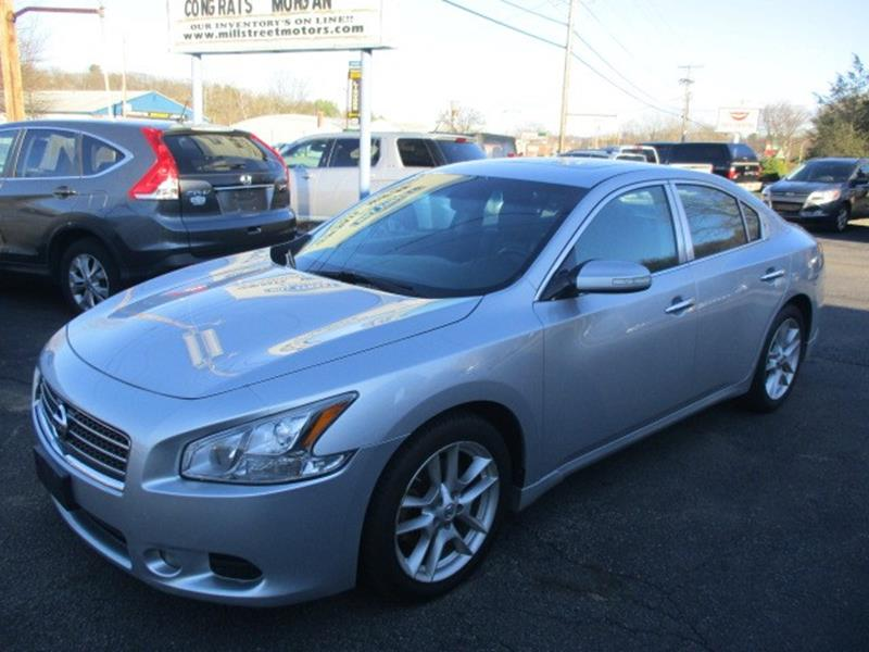 2009 nissan maxima 4dr sdn v6 cvt 3 5 sv in worcester ma. Black Bedroom Furniture Sets. Home Design Ideas