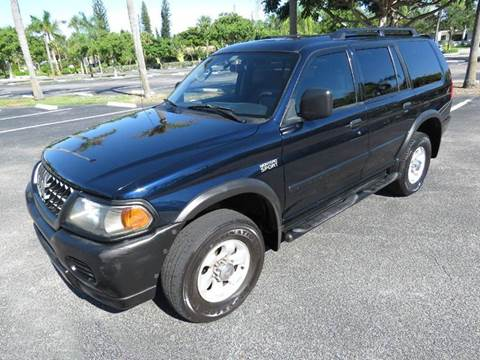2003 Mitsubishi Montero Sport for sale in Pompano Beach, FL