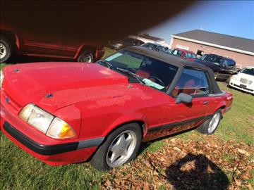 1991 Ford Mustang for sale in Standard, IL