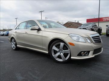 Mercedes benz e class for sale in owensboro ky for Tapp motors inc owensboro ky