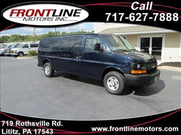 2008 Chevrolet Express Passenger for sale in Lititz, PA