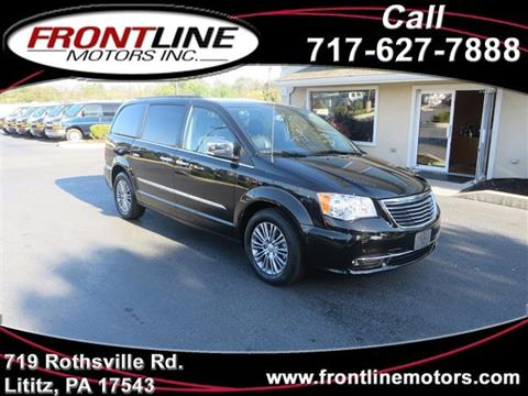 2014 Chrysler Town and Country for sale in Lititz, PA