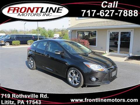 2014 Ford Focus for sale in Lititz, PA