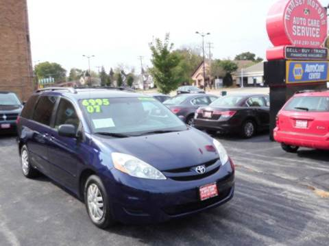 2007 Toyota Sienna for sale in Milwaukee, WI