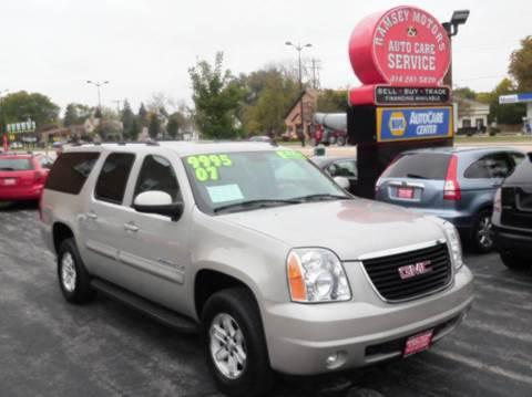 2007 GMC Yukon XL for sale in Milwaukee, WI