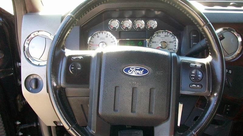 2010 Ford F-350 Super Duty 4x4 Lariat 4dr Crew Cab 8 ft. LB DRW Pickup - Wichita KS