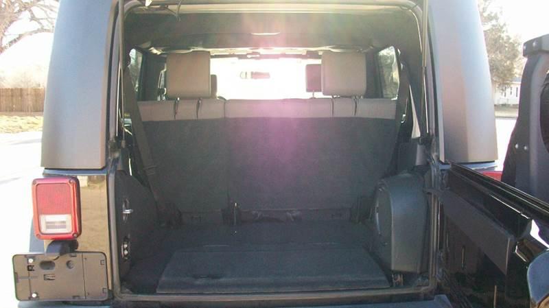 2009 Jeep Wrangler Unlimited 4x4 Rubicon 4dr SUV - Wichita KS