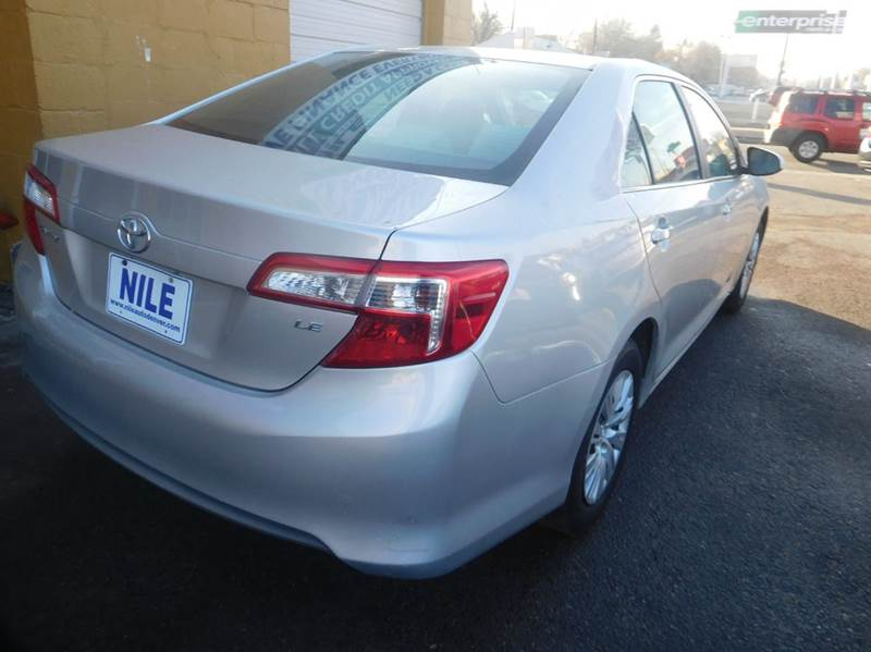 2012 Toyota Camry LE 4dr Sedan - Denver CO