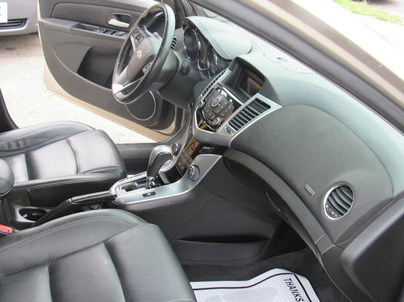 2012 Chevrolet Cruze LTZ 4dr Sedan w/1LZ - Denver CO