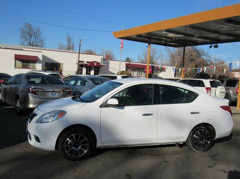 2014 Nissan Versa 1.6 SV 4dr Sedan - Denver CO