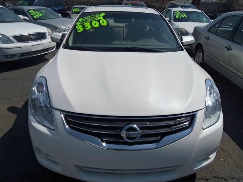 2010 Nissan Altima 25 4dr Sedan In Garden City MI Als Linc