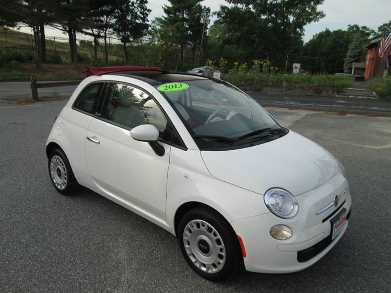 2013 fiat 500c pop 2dr convertible in lowell ma best auto bargain. Black Bedroom Furniture Sets. Home Design Ideas