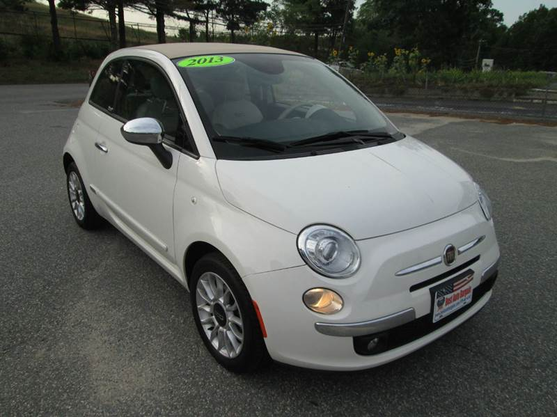 2013 fiat 500c lounge 2dr convertible in lowell ma best auto bargain. Black Bedroom Furniture Sets. Home Design Ideas