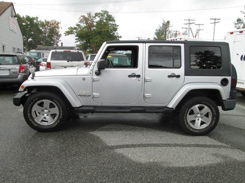 2008 Jeep Wrangler Unlimited Sahara 4x4 4dr Suv In Lowell Ma