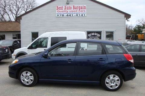 2003 Toyota Matrix for sale in Lowell, MA
