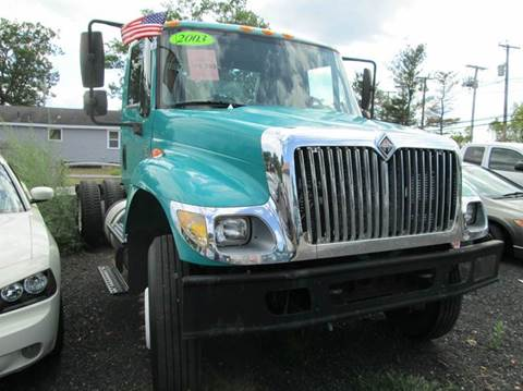 2003 International 7500 for sale in Lowell, MA