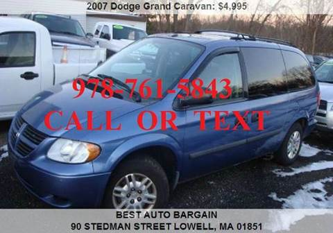2007 Dodge Grand Caravan for sale in Lowell, MA