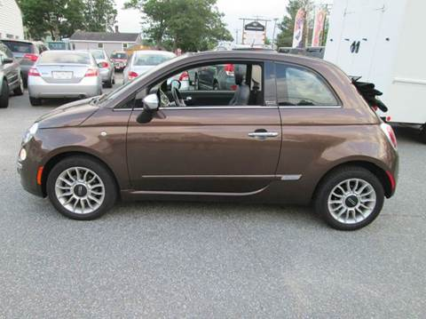 2012 FIAT 500c for sale in Lowell, MA