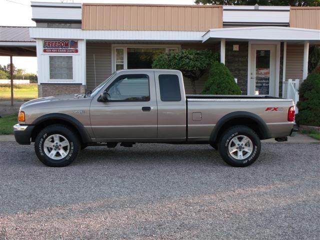 2004 ford ranger 4dr supercab xlt fx4 off road 4wd sb in bellevue oh freedom auto mart. Black Bedroom Furniture Sets. Home Design Ideas
