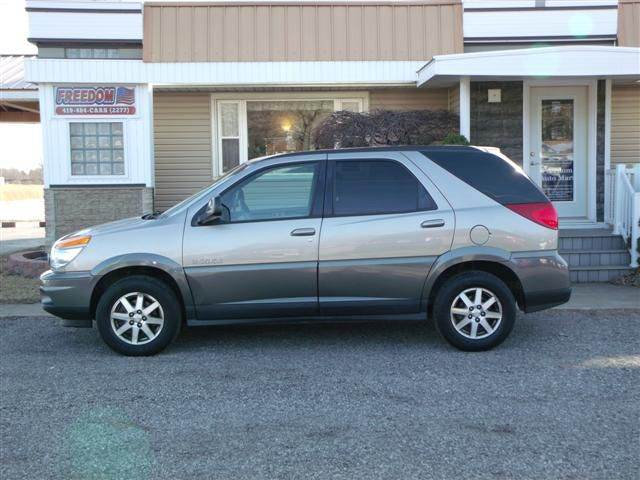 2002 buick rendezvous awd cx 4dr suv in bellevue oh. Black Bedroom Furniture Sets. Home Design Ideas