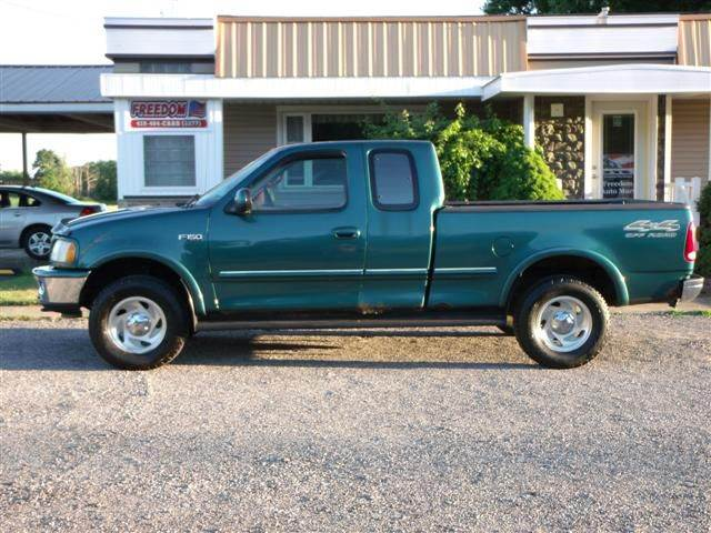 1997 ford f 150 3dr xlt 4wd extended cab sb in bellevue oh freedom auto mart. Black Bedroom Furniture Sets. Home Design Ideas