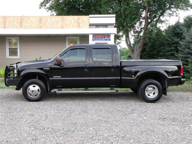 2004 ford f 350 super duty 4dr crew cab xlt 4wd sb drw in bellevue oh freedom auto mart. Black Bedroom Furniture Sets. Home Design Ideas