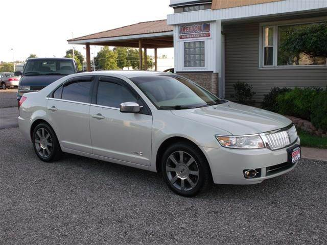 2008 lincoln mkz awd 4dr sedan in bellevue oh freedom auto mart. Black Bedroom Furniture Sets. Home Design Ideas