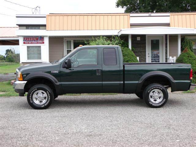 2001 ford f 250 super duty 4dr supercab lariat 4wd sb in bellevue oh freedom auto mart. Black Bedroom Furniture Sets. Home Design Ideas