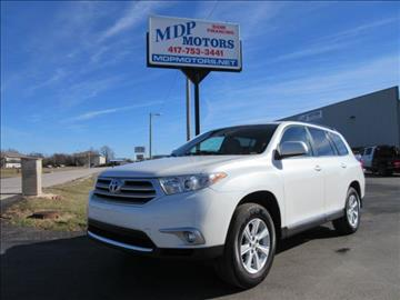 Toyota Highlander For Sale Missouri