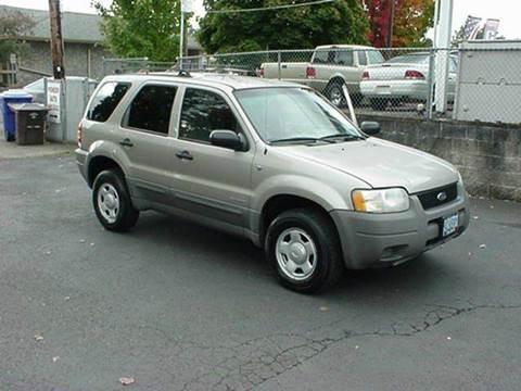 2001 Ford Escape for sale in Gladstone, OR