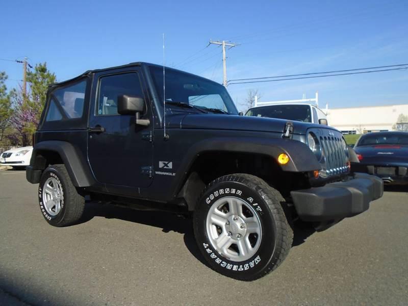 2007 Jeep Wrangler 4x4 X 2dr SUV - Chantilly VA