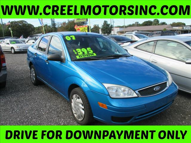 2007 Ford Focus  ZX4 S  4d Sed