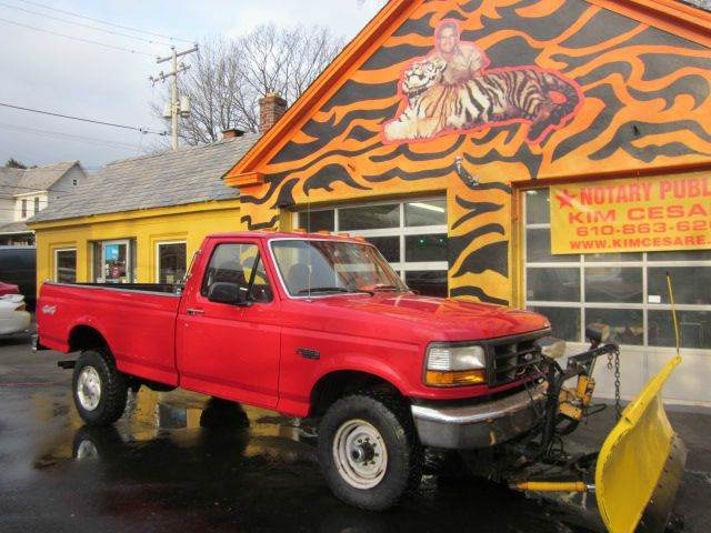 used 1997 ford f 250 xl in pen argyl pa at kim cesare auto. Black Bedroom Furniture Sets. Home Design Ideas