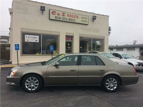2010 Cadillac DTS for sale in Belton, MO