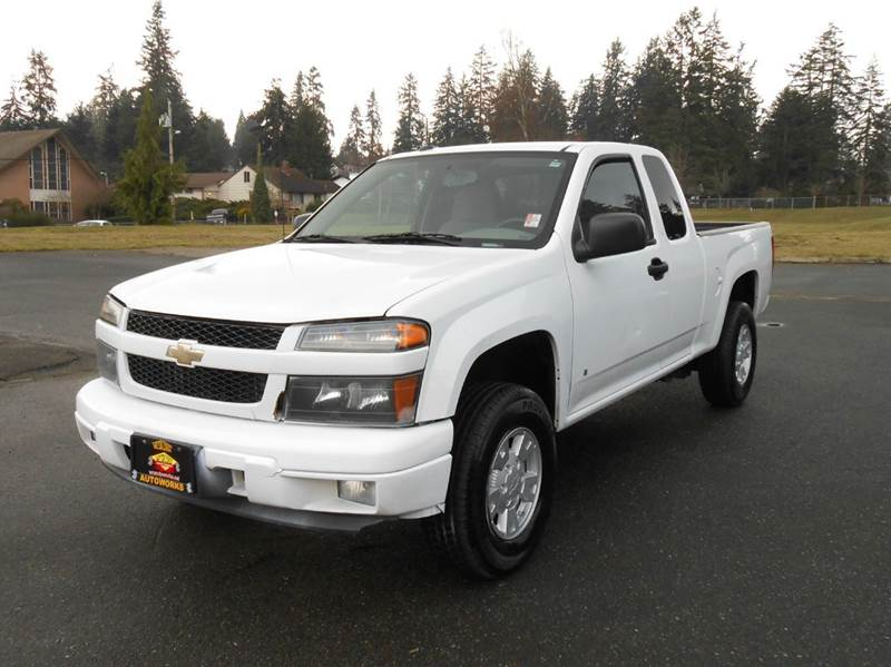 2008 chevrolet colorado 4x4 ls extended cab 4dr in edmonds. Black Bedroom Furniture Sets. Home Design Ideas