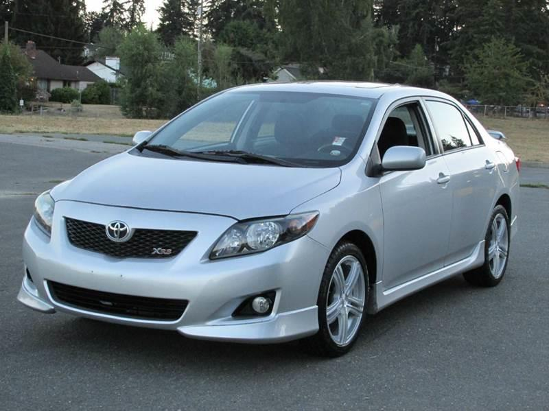 2009 toyota corolla xrs 4dr sedan 5a in edmonds wa west. Black Bedroom Furniture Sets. Home Design Ideas