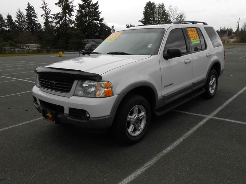 2002 ford explorer 4dr xlt 4wd suv in edmonds wa west. Black Bedroom Furniture Sets. Home Design Ideas