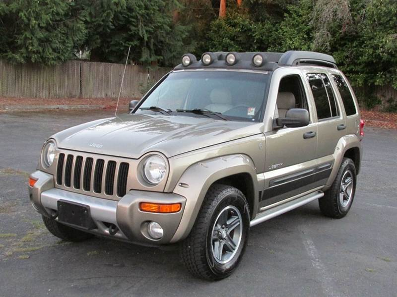 2004 jeep liberty renegade 4wd 4dr suv in edmonds wa. Black Bedroom Furniture Sets. Home Design Ideas