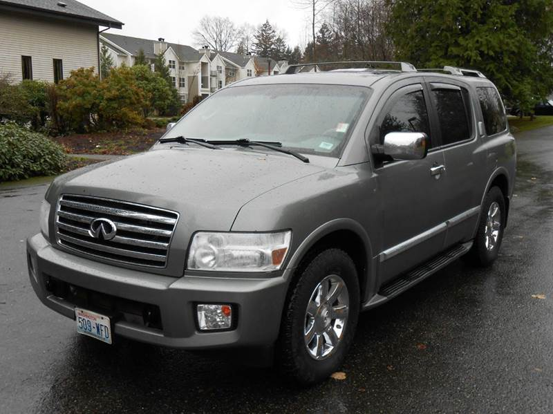 2006 infiniti qx56 base 4dr suv 4wd in lynnwood wa weast coast autoworks inc. Black Bedroom Furniture Sets. Home Design Ideas