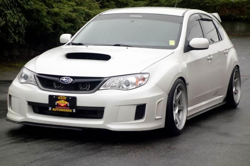 2013 Subaru Impreza Wrx Awd 4dr Wagon In Edmonds Wa West Coast