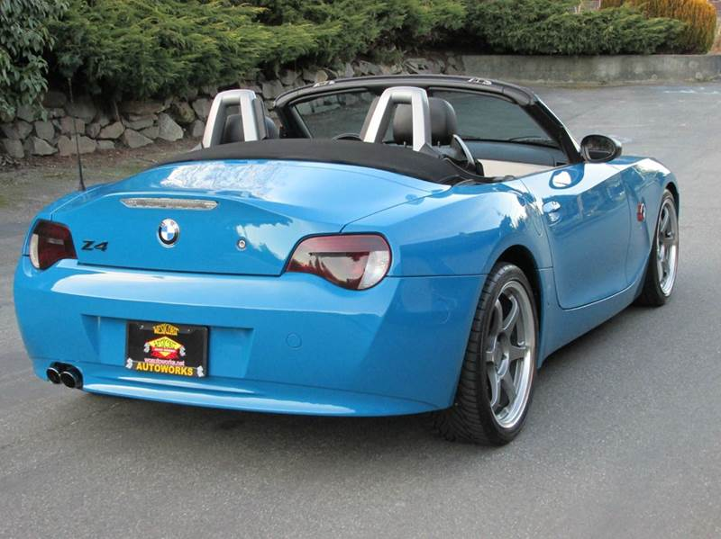 2004 bmw z4 2dr roadster in edmonds wa west coast autoworks. Black Bedroom Furniture Sets. Home Design Ideas