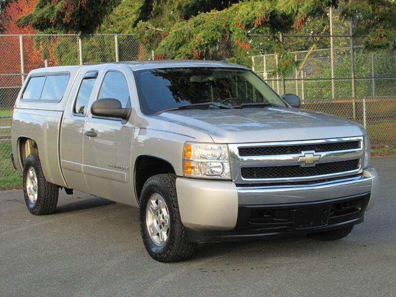 2008 chevrolet silverado 1500 2wd lt1 4dr extended cab 6 5 ft sb in edmonds wa weast coast. Black Bedroom Furniture Sets. Home Design Ideas