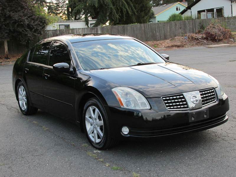 2005 nissan maxima 3 5 sl 4dr sedan in edmonds wa weast. Black Bedroom Furniture Sets. Home Design Ideas