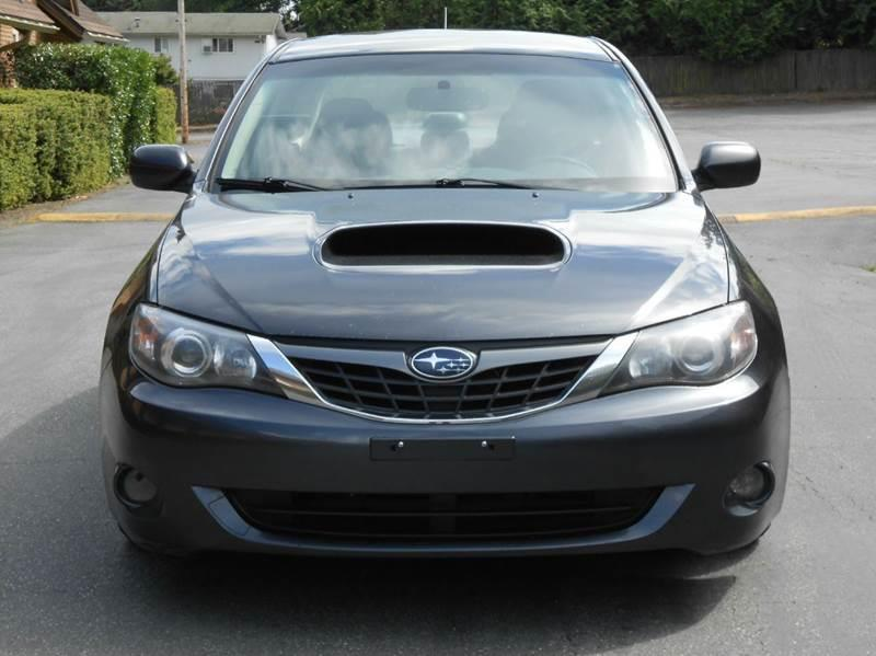 2008 subaru impreza wrx awd 4dr sedan 5m w vdc in edmonds wa west coast autoworks. Black Bedroom Furniture Sets. Home Design Ideas