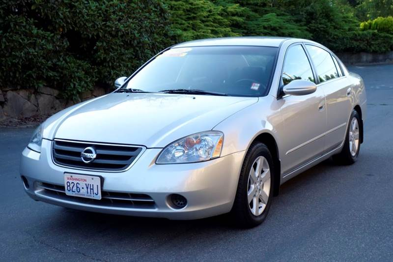 2002 Nissan Altima 2.5 S 4dr Sedan   Edmonds WA